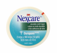 Nexcare Durapore Durable Cloth Tape 2 Inches X 10 Yards 1 ea [051131000216]