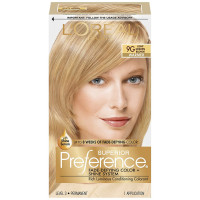 L'Oreal Superior Preference Permanent Hair Color, 9G Light Golden Blonde 1 ea [071249253267]