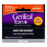 GenTeal Tears Lubricant Eye Ointment, Night-Time Ointment 0.12 oz  [300780473972]