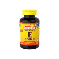 Sundance Vitamins  High Potency E 1000 IU,  60 ea [840093140050]