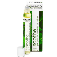 Humco Natural Therapies Peppermint Essential Oil Roll-on .33 oz [303952035336]