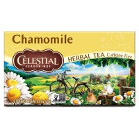 Celestial Seasonings Natural Herbal Tea, Chamomile 20 ea [070734000102]