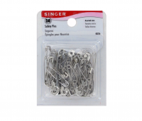 Singer Assorted Safety Pins, Multisize 50 ea [075691002268]