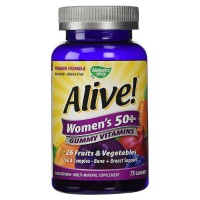 Nature's Way Alive! Women's 50+ Gummy Multivitamin 75 ea [033674158999]
