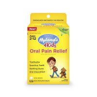 Hyland's 4 Kids Oral Pain Relief Tablets, 125 ea [354973331617]