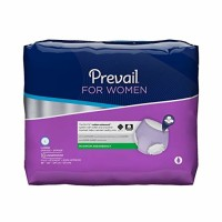 Prevail Maximum Absorbency Incontinence Underwear for Women, Large - 18 ea [090891900251]