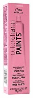 Wella  Color Charm Paints Tube Light Pink  2 oz [3614225310348]