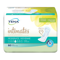 TENA Moderate Long Incontinence Pad, 60 ea  [768702469005]