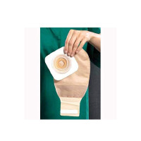 "Ostomy Pouch Natura  TwoPiece System 12"" Length 114 to 134"" Stoma Drainable Tail Closure [768455113408]"