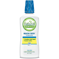 The Natural Dentist Healthy Teeth Fluoride Rinse, Fresh Mint 16.90 oz [714132000790]