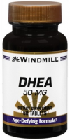 Windmill DHEA 50 mg Tablets 50 Tablets [035046003890]