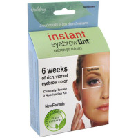 Godefroy Instant Eyebrow Tint Eyebrow Gel Colorant, Light Brown 3 ea [186297000968]