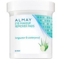 Almay Eye Makeup Remover Pads, Longwear & Waterproof 80 ea [309975924480]