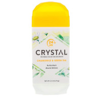 Crystal Deodorant Solid Stick Chamomile & Green Tea, 2.5 oz  [086449553758]