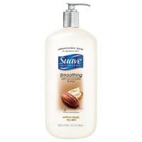 Suave Skin Solutions Body Lotion, Smoothing with Cocoa Butter with Shea 32 oz [045893108686]
