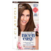 Nice 'n Easy Permanent Color, Dark Mocha Brown [4W] 1 ea [070018116741]