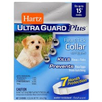 Hartz UltraGuard Plus Flea & Tick Collar For Puppies 1 ea [032700963415]