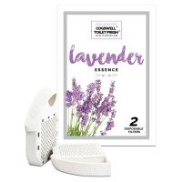 Cogswell Toilet Fresh Air Purifier Disposable Filters - LAVENDER 2  ea [0749712274858]