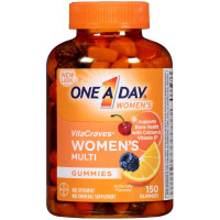 One A Day Women's VitaCraves Multivitamin Gummies 150 ea [016500555926]