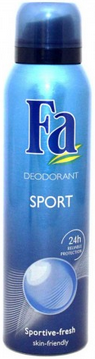 FA Deodorant Spray, Sport 5 oz [4015000817295]