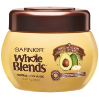 Garnier Whole Blends Nourishing Mask, Avocado Oil & Shea Butter Extracts 10.10 oz [603084462094]