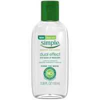 Simple Kind to Skin Dual Effect Eye Makeup Remover 3.38 oz [087300528526]