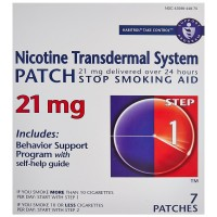 Habitrol Nicotine Transdermal System Stop Smoking Aid Patches, Step 1 7 ea [848985001540]