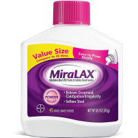 Miralax  Powder Laxative, 45 Doses 26.9 oz [041100568007]