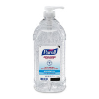 Purell Hand Sanitizer Alcohol Ethyl Gel Pump Bottle 2 Liter [073852006452]