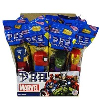 PEZ Marvel Comics Assorted, 12 ea [073621001121]