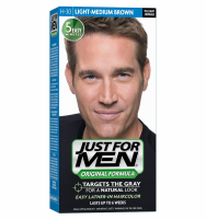 JUST FOR MEN Hair Color Light-Medium Brown H30 1 Each [011509049407]