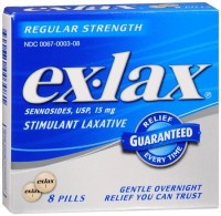 Ex-Lax Pills Regular Strength 8 Each [300670003081]