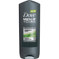 Dove Men+Care Elements Body Wash, Minerals and Sage 13.5 oz [011111657625]