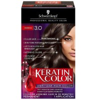 Schwarzkopf Keratin Color Anti-Age Hair Color, Espresso [3.0] 1 ea [017000127316]