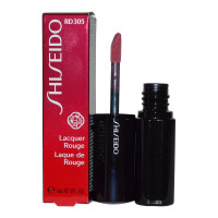 Shiseido Lacquer Rouge Lipstick Liquid, (Rd305) Nymph,  0.2 oz [730852108943]