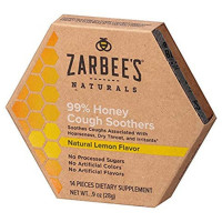 ZarBee's Naturals  99% Honey Cough Soothers, Lemon 0.9 oz [858438005353]