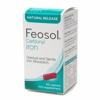 Feosol Carbonyl Iron Supplement Caplets Natural Release 60 Caplets [346017096606]