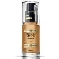 Max Factor Miracle Match Foundation, [85] Caramel, 1 oz [4084500539969]