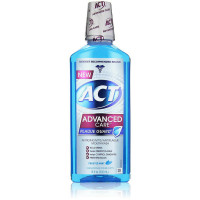 ACT Advanced Care Plaque Guard Mouthwash, Frosted Mint 18 oz [041167095409]