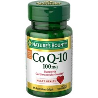 Nature's Bounty Co Q-10 100mg 45 Rapid Release Softgels  [074312048869]