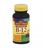 Nature Made B-12 1000 mcg Micro-Lozenges Cherry Flavor 50 ea [031604027179]