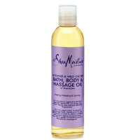 Shea Moisture Bath, Body & Massage Oil Lavender & Wild Orchid 8 oz [764302213062]