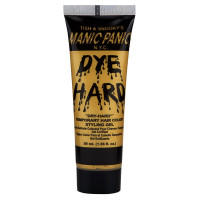 Manic Panic Temporary Hair Color Styling Gel, Glam Gold 1.66 oz [612600121803]
