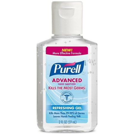 Purell Advanced Hand Sanitizer 2 oz [073852096507]