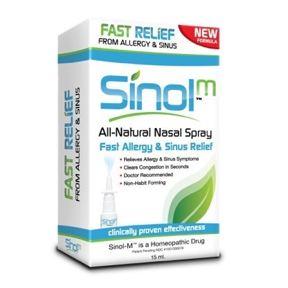 Sinol-M Allergy & Sinus Relief Spray 15 ml [315013000078]