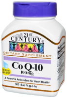 21st Century CoQ10 100 mg Softgels 90 ea [740985274132]