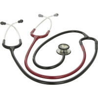 3M Littmann Classic II S.E. Teaching Stethoscope, Black and Burgundy Tube, 40 inch, 2138 1 ea [707387232795]