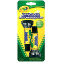 Crayola Washable Glue Sticks 2 ea [071662111298]