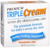 Premium Triple Cream Severe Dry Skin/Eczema Care 4 oz [794731042049]