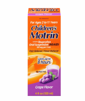 Motrin Children's Oral Suspension Grape 4 oz [300450603401]